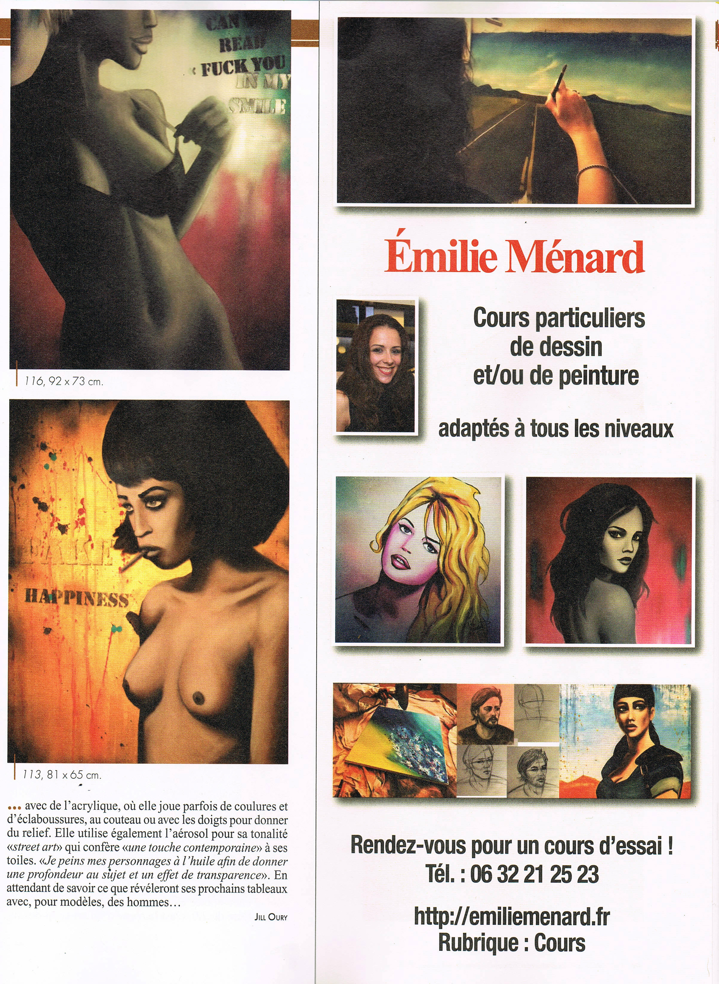 article art mag emilie menard p4 2017