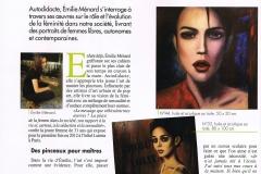 article Emilie Menard - Art Mag - 03.16 - P1