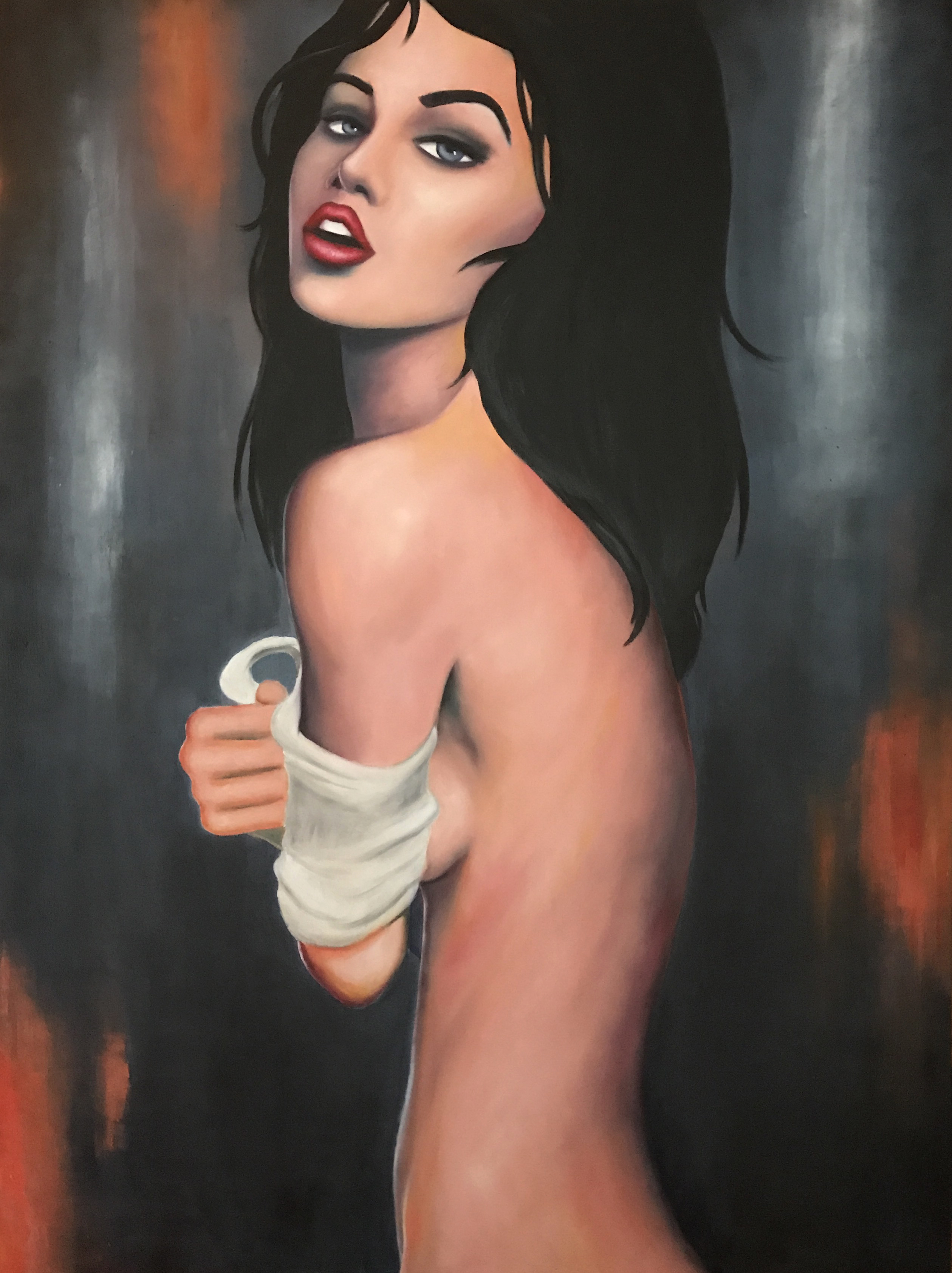 146 -TABLEAU EMILIE MENARD