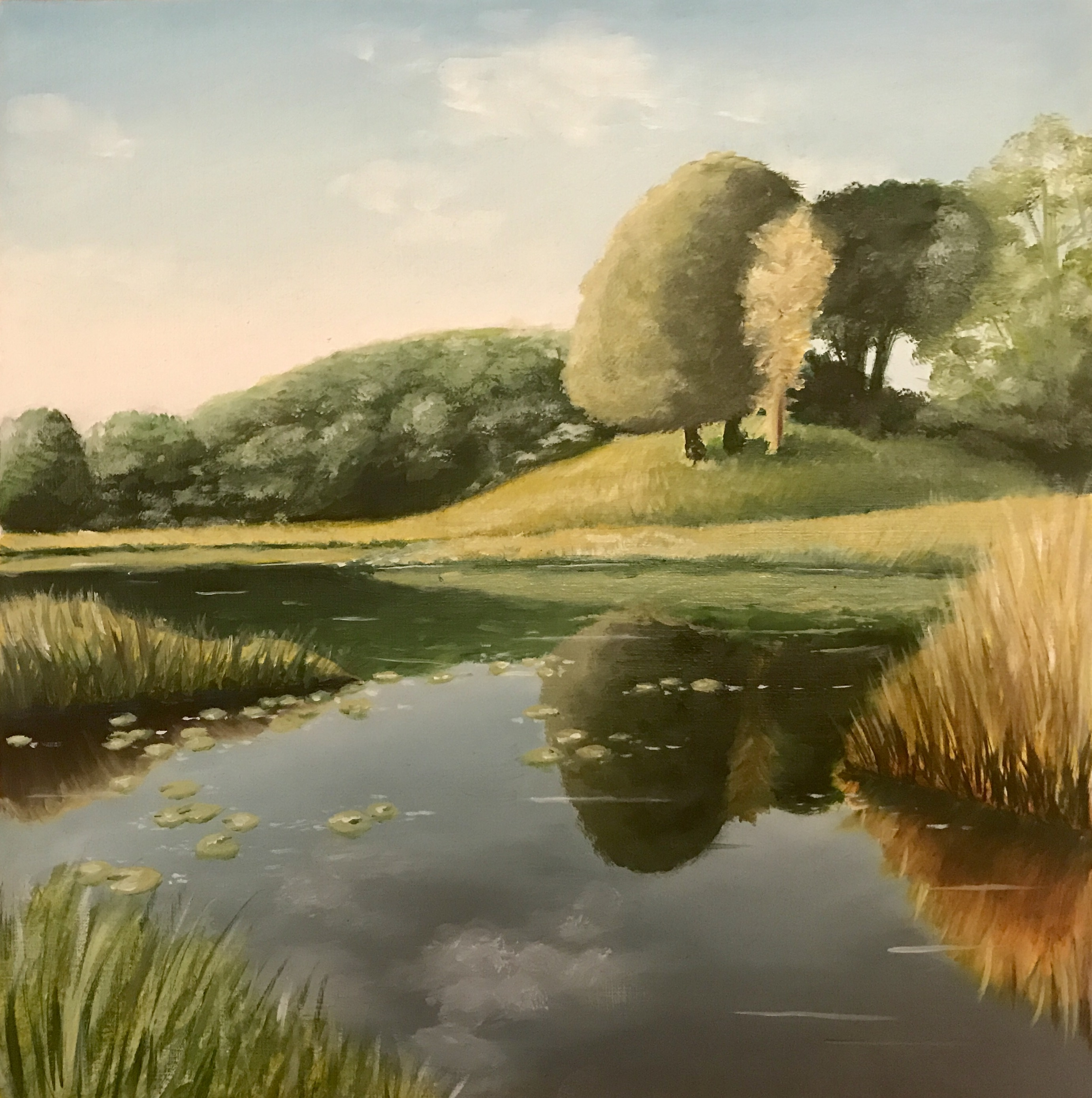 paysage peinture
